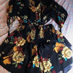 Floral 2 piece set